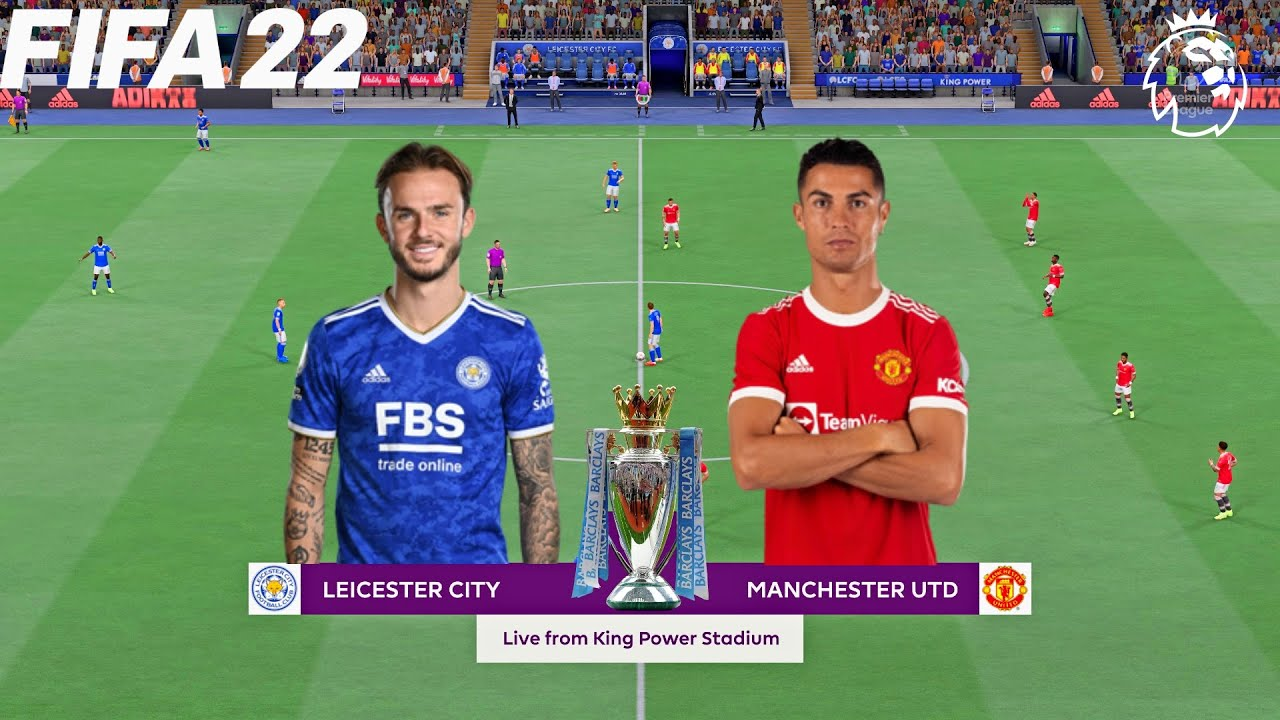 Download FIFA 22 | Leicester City vs Manchester United - Premier League English - Full Gameplay