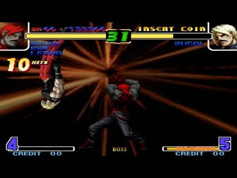 The King Of Fighters 2005 - Infinite Combo Vs Rugal BOSS Complete