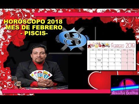 Horóscopo del mes de febrero 2018 para piscis, por Reynaldo Silva