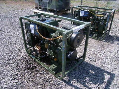 2000 Dewey Electronics Corp  Model MEP-501A Diesel Powered Generator Set on  GovLiquidation com