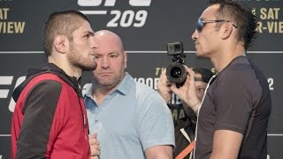 Бой Хабиб Нурмагомедов vs. Тони Фергюсон на UFC 209 отменен