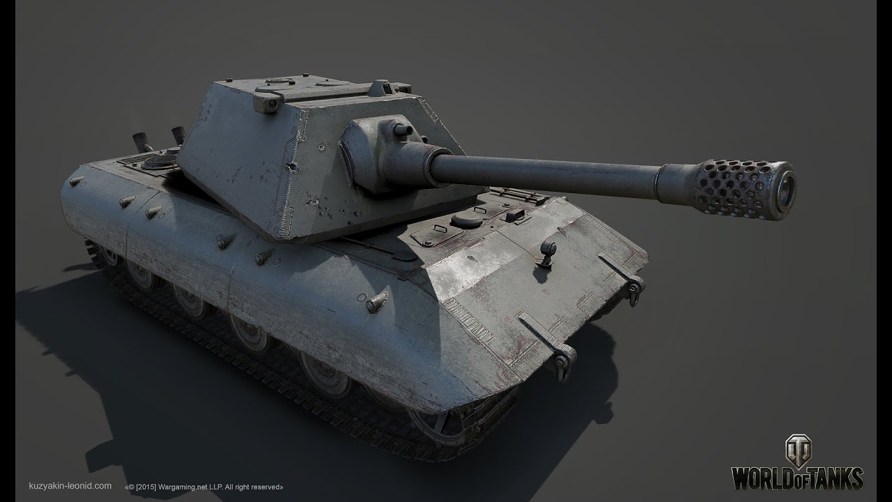 World of Tanks - Guide To The E100 - YouTube