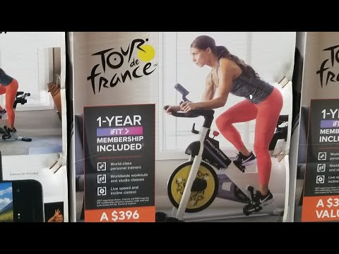 Costco Proform Tour De France Indoor Smart Exercise Bike Now 299 Youtube