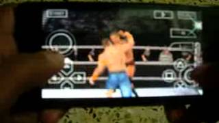 WWE Smackdown Vs Raw 2011 on Micromax Unite 2 Android Gameplay