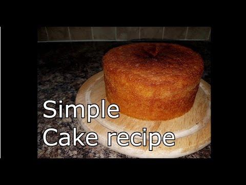 Easy cake recipe using self rising flour