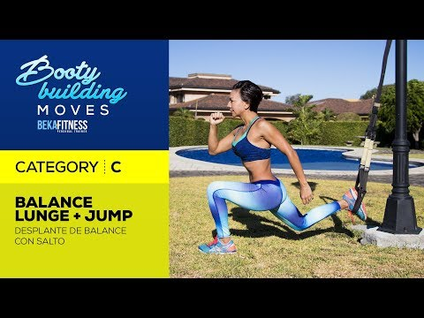 Balance Lunge + Jump with T-R-X