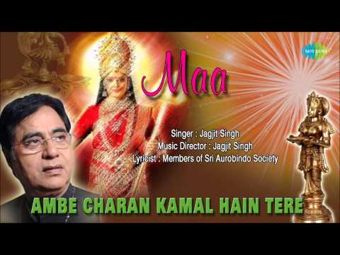 Ambe Charan Kamal Hain Tere | Hindi Devotional Song | Jagjit Singh