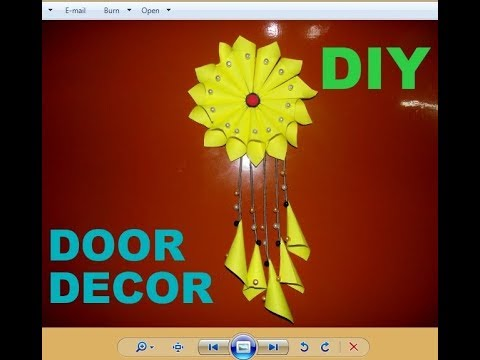 Paper Wall Hanging Diy Paper Sunflower Wall Hanging Ideas