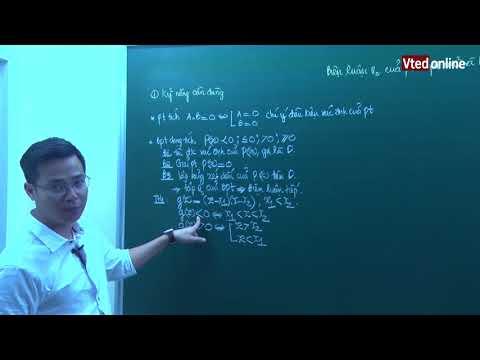 Bài toán biện luận nghiệm của pt,bpt Mũ và Logarit (dạng tích) - Pro Xmax - Thầy: Đặng Thành Nam