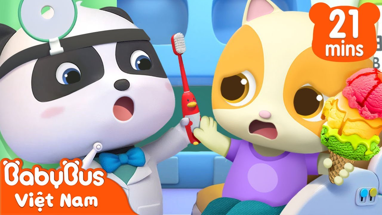 Một ngày làm bác sĩ nha khoa   Bác sĩ Kiki và Miumiu   Nhạc thiếu nhi vui nhộn   BabyBus