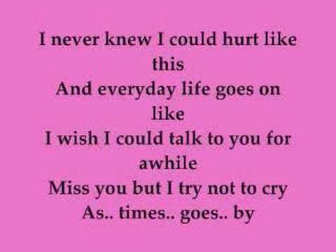MARiAH CAREY- BYE BYE LYRiCS