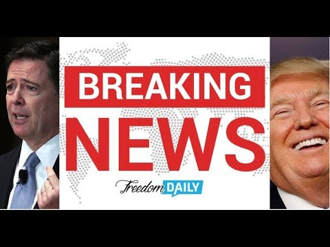 BREAKING! COMEY IS DONE TRUMP JUST GOT THE LAST LAUGH!