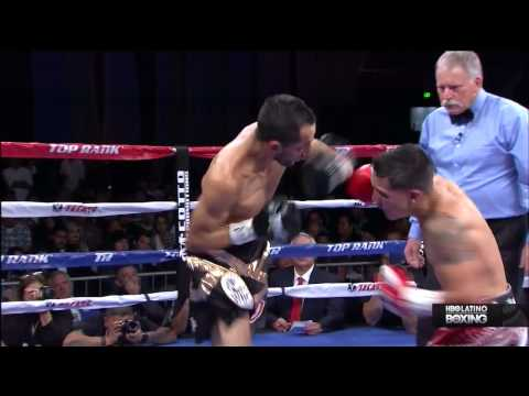 Oscar Valdez vs Alberto Garza full fight 15 11 2014