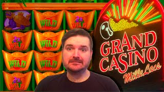 I I CAN'T BELIEVE IT PAID THAT MUCH! MASSIVE SLOT MACHINE WIN At Grand Casino!