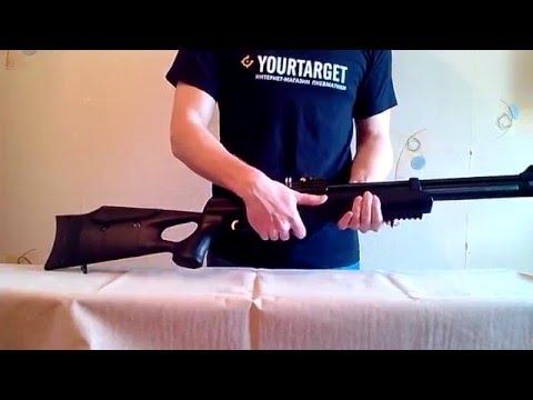 Пневматическая винтовка Hatsan AT44-10 (обзор, данные отстрела по скорости и кучности, цена)