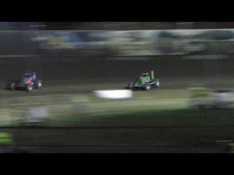 Tulare Thunderbowl Raceway USAC A-main 3/12/2016