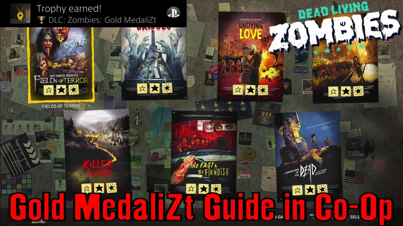 Far Cry 5 Dlc Zombies Gold Medalizt Trophy Achievement Guide Co Op Guide Youtube