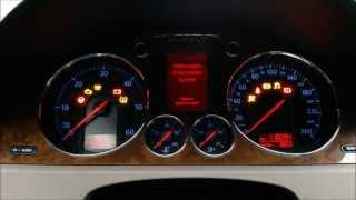 Resetting service interval to Volkswagen Passat B6 and B7, audio: English