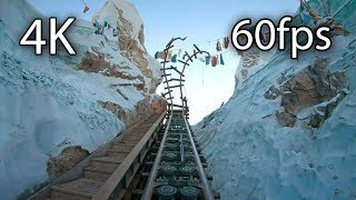 Expedition Everest front seat on-ride 4K POV @60fps Disneys Animal Kingdom YouTube Videos