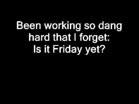 GORD BAMFORD - IS IT FRIDAY YET