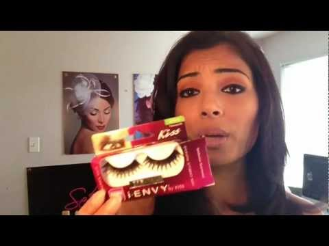 ec724fc260e How to apply false lashes- Trying out Remi Hair i* Envy by Kiss KpE19  Amazing lashes - YouTube