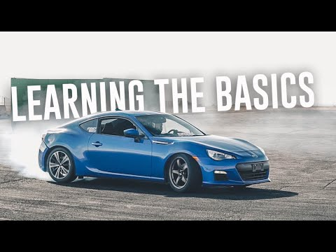 What it's like to Learn DRIFTING for the FIRST TIME -  SUBARU BRZ DRIFT DAY