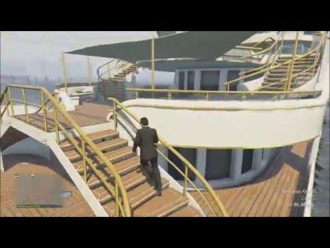 GTA Online Super Yacht Defense System Demonstration