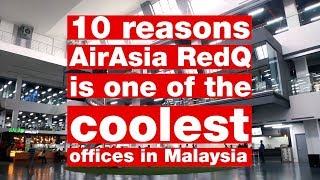 Video 10 reasons AirAsia RedQ is one of the coolest offices in Malaysia download MP3, 3GP, MP4, WEBM, AVI, FLV Juni 2018