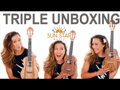 Sun Star Ukulele Unboxing, Review, and Giveaway Affordable
