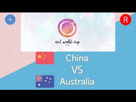 osu! World Cup 2016 Round of 16 - Match C - China vs Australia