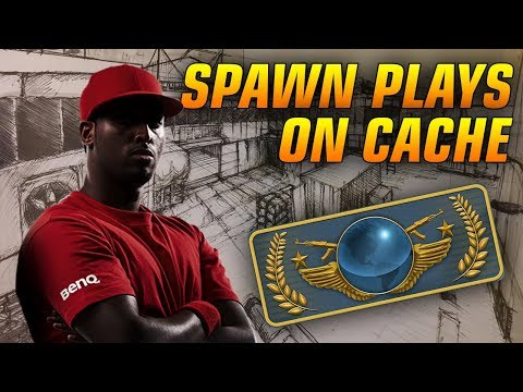 SpawN plays Cache on Globals ★ CS:GO