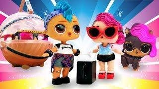 Сборник ЛОЛ и Лол петс - все серии. Куклы Лол - Мультики для девочек