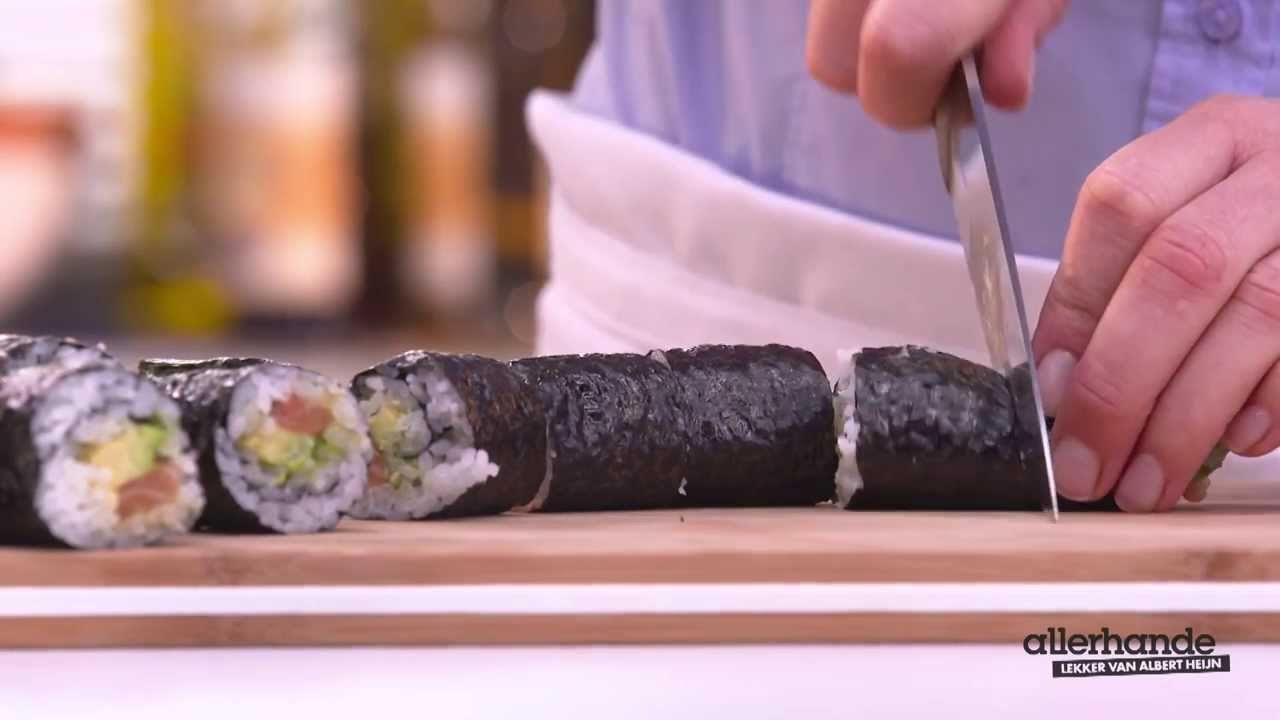 allerhande sushi recept
