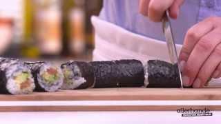 Sushirol met zalm en avocado - Allerhande
