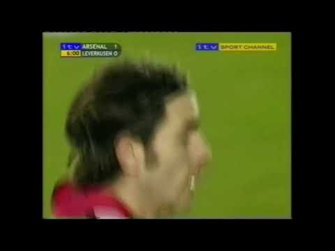 Arsenal 4-1 Bayer Leverkusen 2001/02 Champions league FULL M