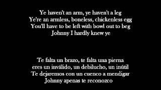 Johnny I Hardly Knew Ye · The Irish Rovers (English lyrics // español letra)