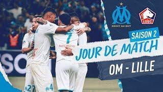 VIDEO: OM 2-1 Lille l Les coulisses de la victoire