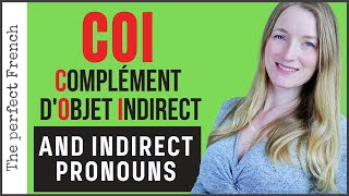 COI Complément d'objet indirect - IOP Indirect object pronoun | French grammar for beginners