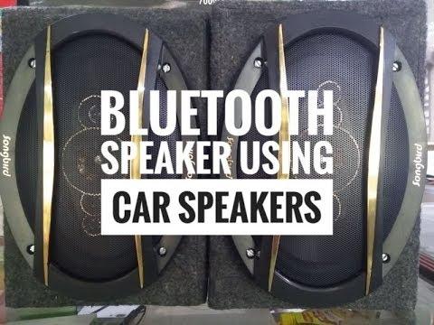 Bluetooth Speaker using Car Speakers
