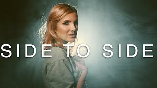 Video Ariana Grande - Side to Side - Rock cover by Halocene download MP3, 3GP, MP4, WEBM, AVI, FLV Mei 2018