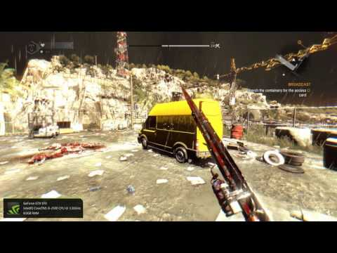 Dying Light: Broadcast tower