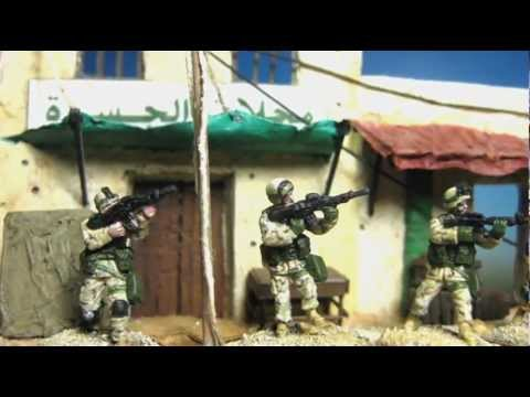 Modern US Marines In Iraq Caesar Miniatures 1/72 Scale