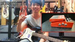 Giới thiệu, hướng dẫn và demo  effect guitar BOSS RC3.