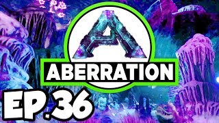ARK: Aberration Ep.36 - 2 REAPER QUEENS, ALPHA ROCK DRAKE DINOSAURS EGGS (Modded Dinosaurs Gameplay)