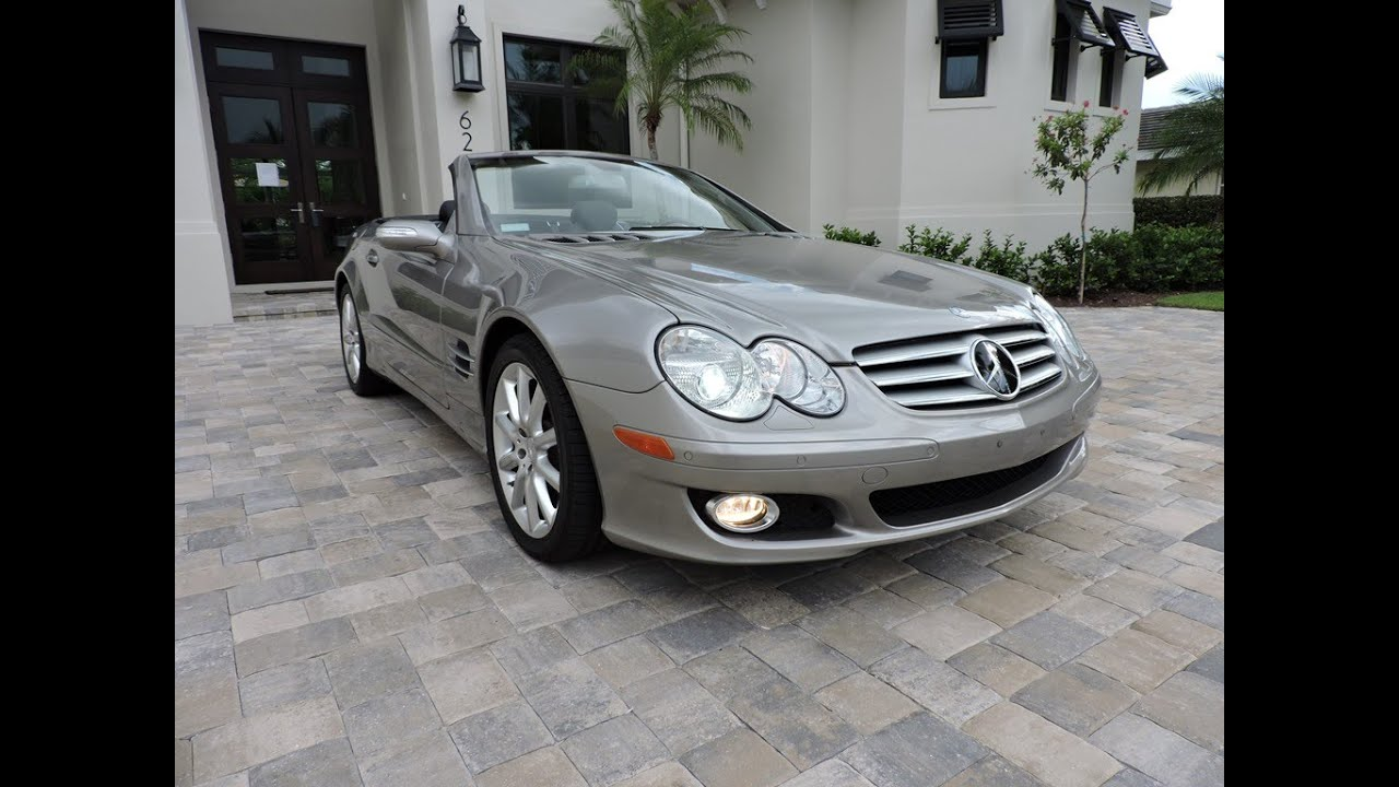 sold 2007 mercedes benz sl550 roadster for sale by auto europa naples youtube. Black Bedroom Furniture Sets. Home Design Ideas