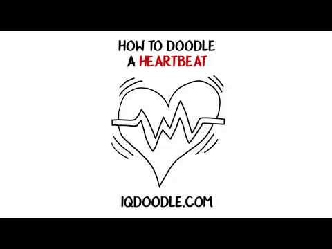 How to Draw a Heartbeat (drawing tips)