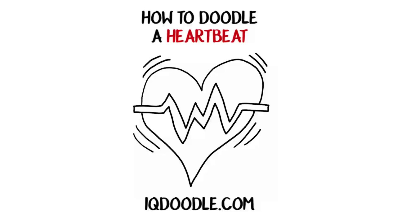 How To Draw A Heartbeat Drawing Tips Youtube