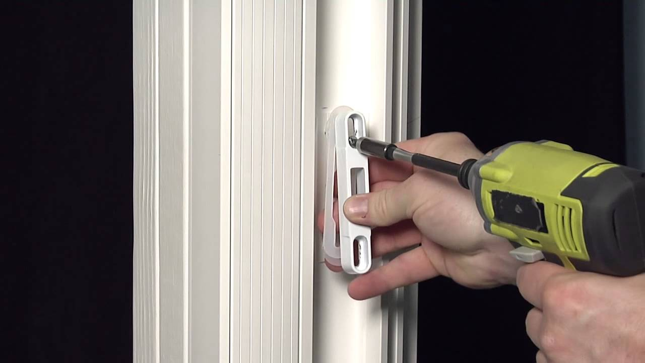How To Install A Single Point Keeper Shim On A Premium Atlantic Aluminum Sliding  Patio Door