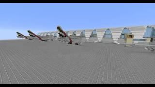 Minecraft Dubai city cinematic
