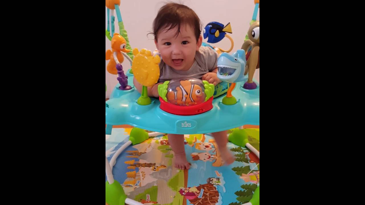 f70d6fa2124c 2016 7 Finding Nemo jumper   bouncer review - YouTube